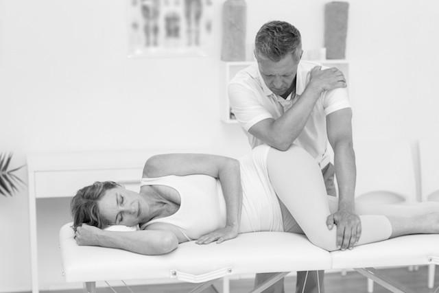 Triggerpunktsbehandling av hofte