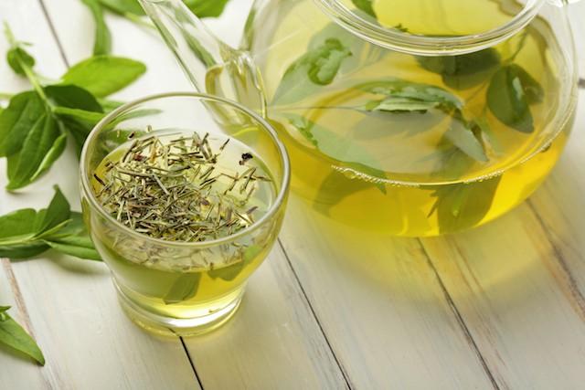 Grønn te betennelsesdempende mat