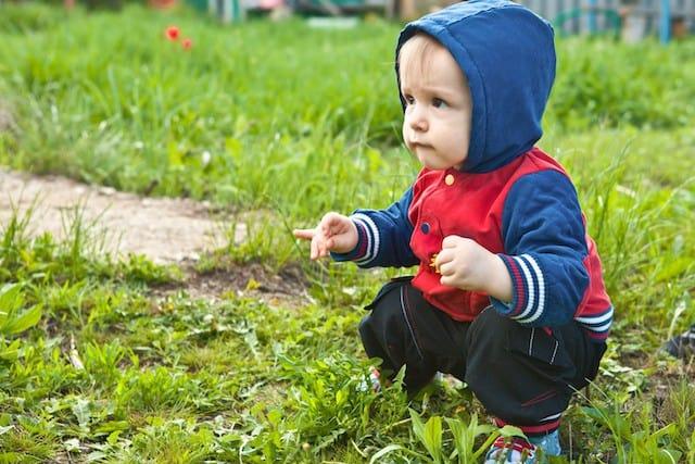 knebøyteknikk dyp knebøy av barn