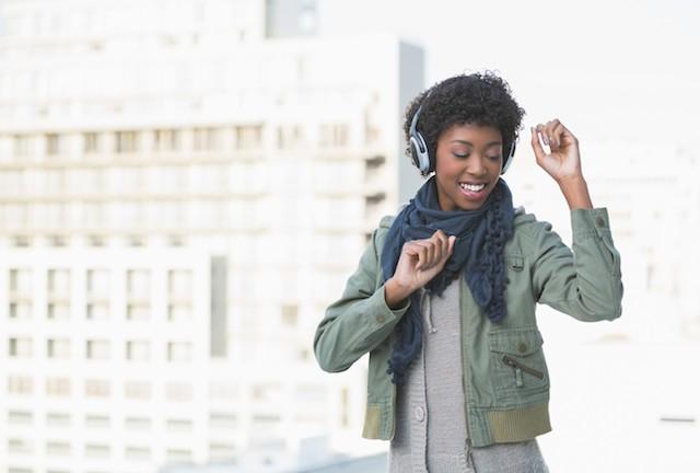 avspenning med musikk