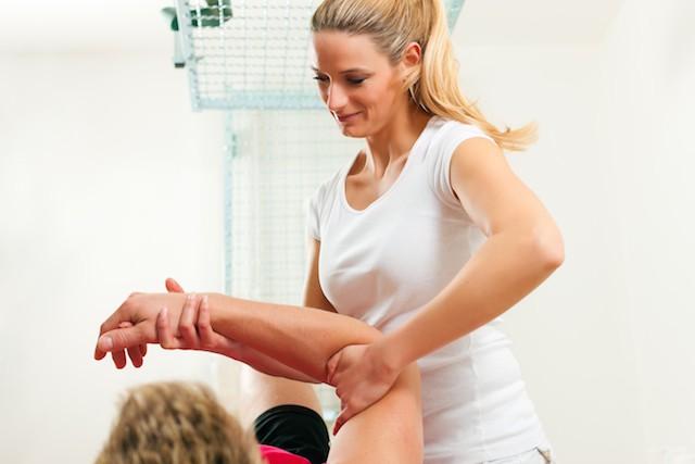 tennisalbue massasje