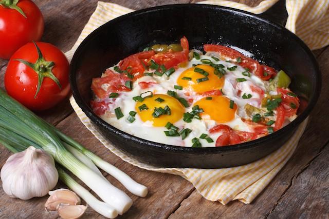 egg omelett med B12