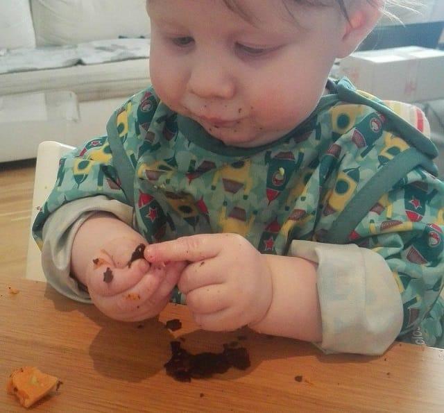 baby spiser selv