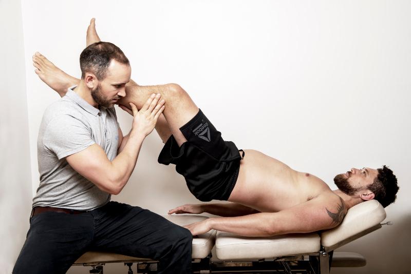 Bilde av hofteundersøkelse av hoftesmerter på ullevål kiropraktorklinikk i oslo